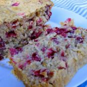Cranberry orange oatmeal bread
