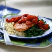 Chicken w/Baby Spinach and Couscous