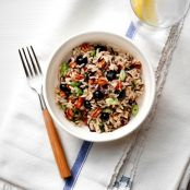 Blueberry Wild Rice Salad