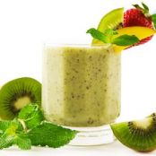 Strawberry- Kiwi Smoothie