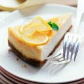 Triple Citrus Cheesecake