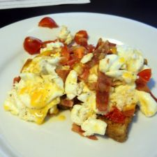 Turkey Bacon Scramble