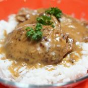 Slow Cooker Cube Steak & Gravy