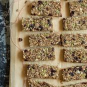 Feel-Good, Hearty Granola Bars