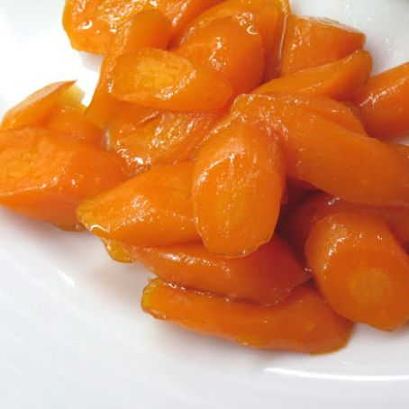 Candied carrots - #1