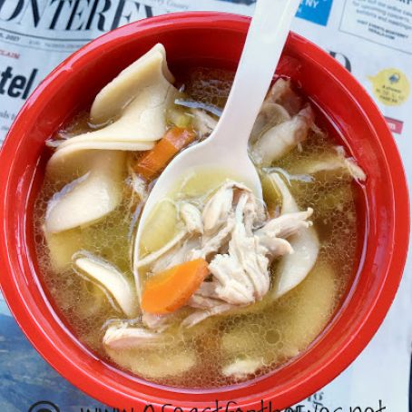 Pressure Cooker Farmhouse Chicken Noodle Soup