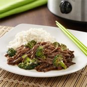 Broccoli Beef Slow Cooker