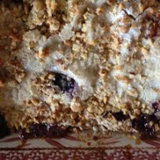 Apple-Blueberry Crunch