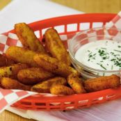 Fried Mashed Potato Sticks