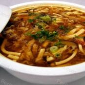 Chinese Hot and Sour Pork Soup