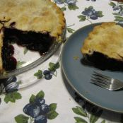 Blueberry-Haskap Berry Pie