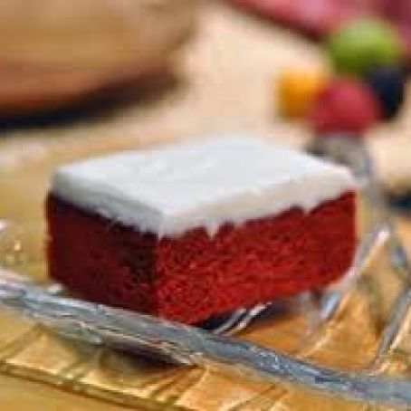 Red Velvet Sheet Cake with Classic Red Velvet Frosting