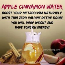 Apple-Cinnamon Water