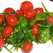 Italian Spinach and Tomatoes