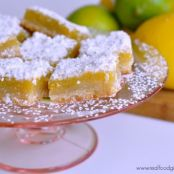 Real Food Triple Citrus Bars