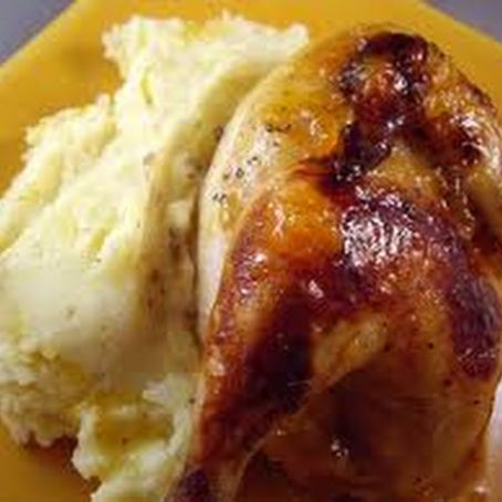 Cornish Game Hens with Apricot Mustard Sauce*(GOOD)*