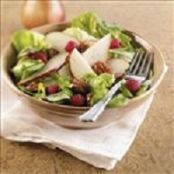 Autumn Pear Salad With Glazed Pecans