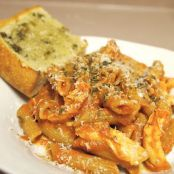 Guilt-Free Vodka Sauce