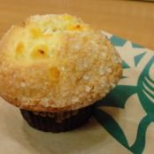 Peaches & Cream Muffin - Starbucks Copycat