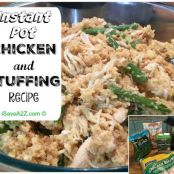 Chicken & Dressing - Instant Pot