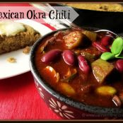Slow Cooker Spicy Mexican Okra Chili