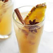 Mulled Cider & Pineapple Cocktail