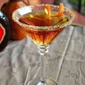 Amaretto Peach Martini