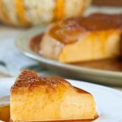 PUDDING -   Pumpkin Flan