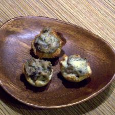 Mushroom Cups- a perfect appetizer