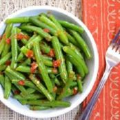 Green Beans with Chipotle Butter