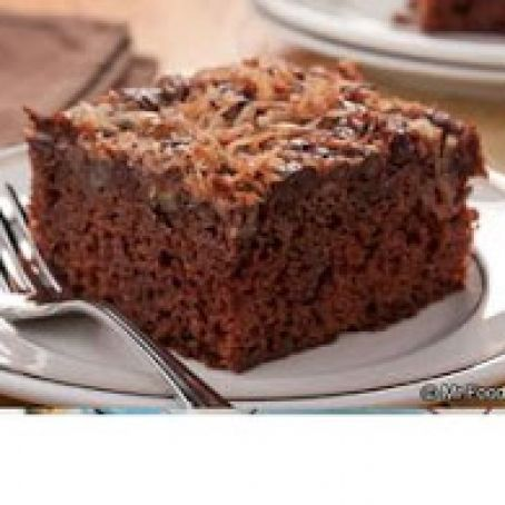 Cocoa-Nut Upside-Down Cake