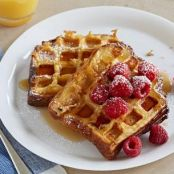Waffled Brioche French Toast