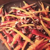 Marmalade Glazed Carrots With Candied Pecans