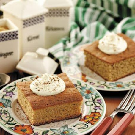 Maple Syrup Spice Cake