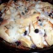 Paleo Apple Blueberry Pie