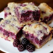 Desert: Blackberry Pie Bars