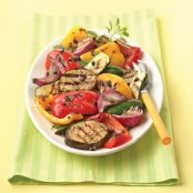 Simple Grilled Vegetable Salad