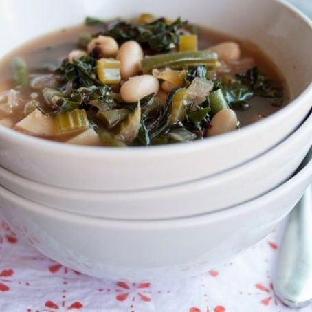 Easy Green Minestrone