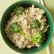 Sausage, Broccoli & Noodles