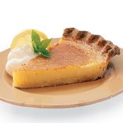Salted Honey & Lemon Chess Pie