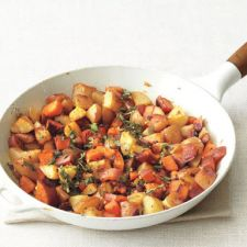 Two-Potato Home Fries