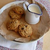 Toasted Oat, Cherry & Hazelnut Cookies
