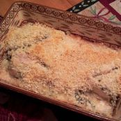 Spinach Dip Baked Chicken