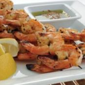 Charcoal Grilled Shrimp