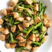 Chicken and Asparagus Teriyaki Stir Fry