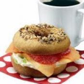 April Fools' Bagel: Doughnut Sandwich