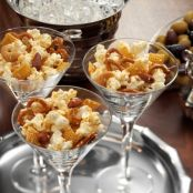Honey-Sesame Popcorn Snack Mix