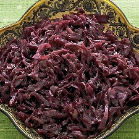Cabbage:  Brown Sugar Spiced Red Cabbage