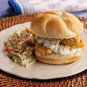 Southern-Style Fried Fish Sandwich