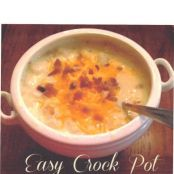Potato Soup (Easy Crock Pot)
